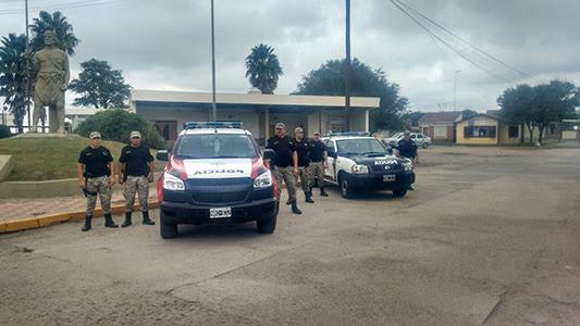 Nuevo Móvil policial para la patrulla rural de Chazón y Etruria