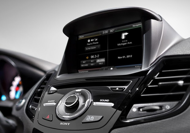 2014 Ford Fiesta gets MyFord Touch with a bigger screen, simpler Sync voice commands