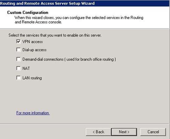 2008 VPN Access