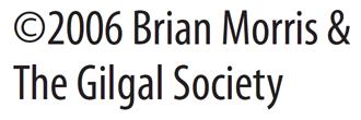 (C) Brian Morris & the Gilgal Society