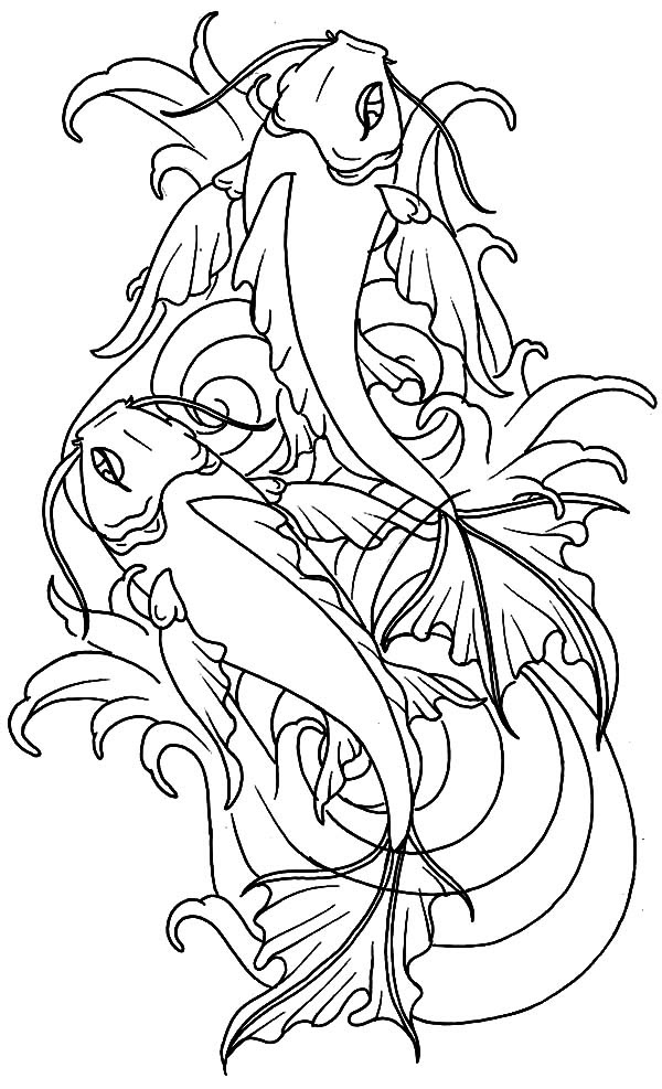 Ponds Coloring Pages - Learny Kids