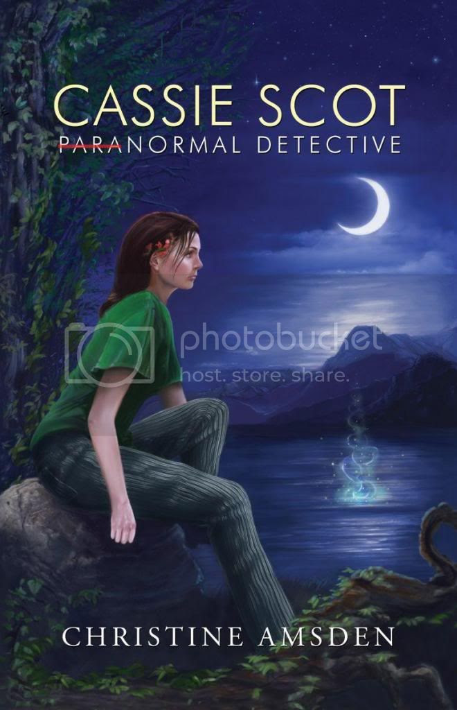 ParaNormal Detective Cover photo ParaNormalDetective-ChristineAmdsen.jpg