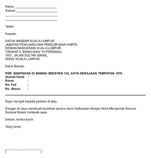 Format Surat Rasmi Kepada Sesiapa Yang Berkenaan Surat Rasmi P