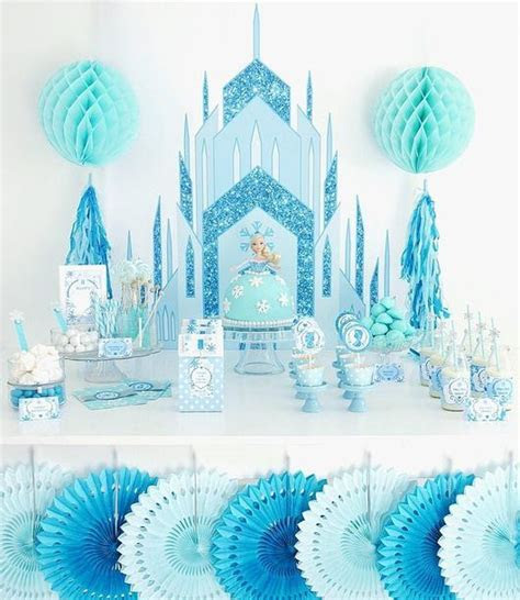 Ice Princess Birthday Party Printables Supplies