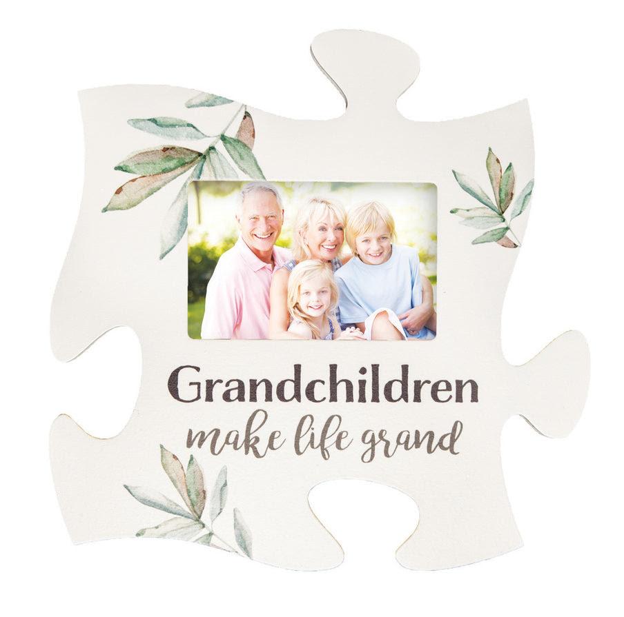 Grandchildren Make Life Grand Puzzle Photo Frame Puzzlematters
