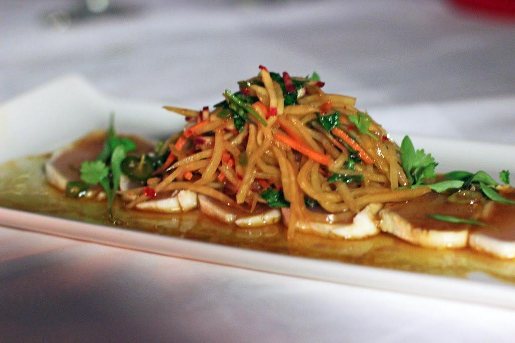 wahoo sashimi