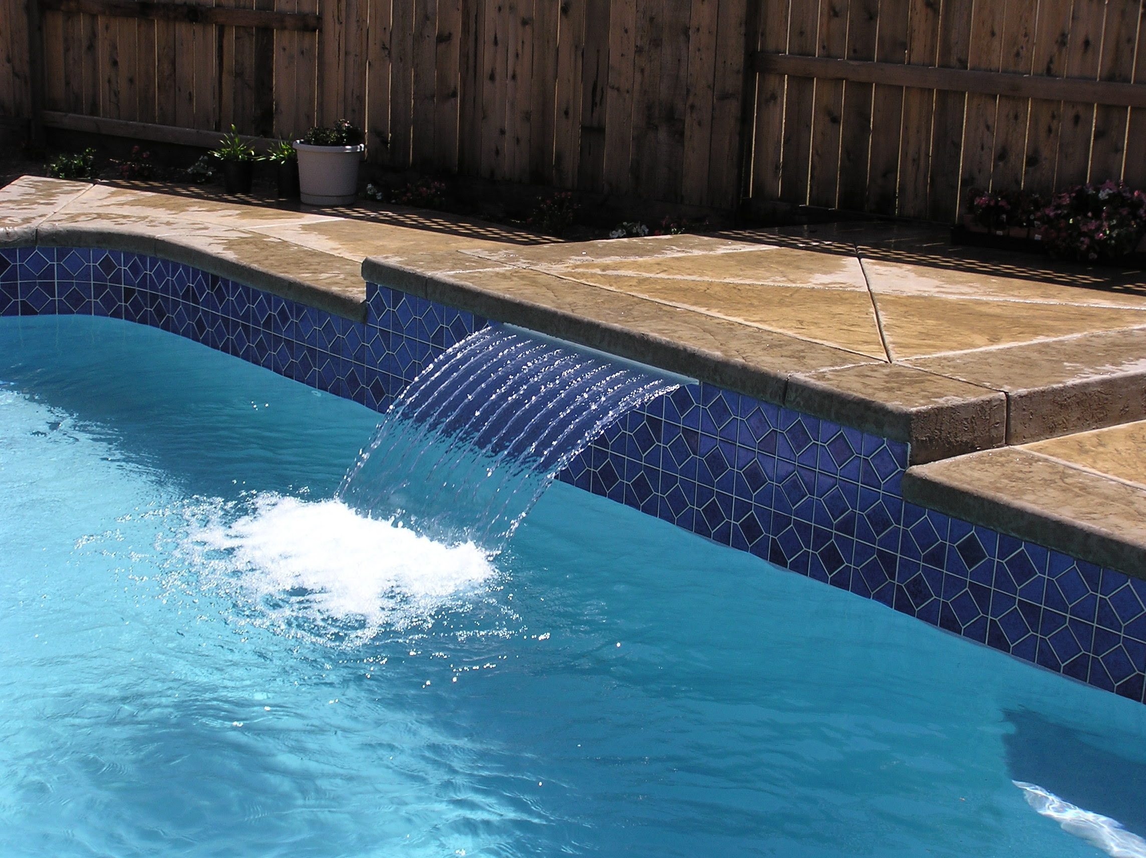 30 Swimming Pool Water Features Waterfall Design Ideas Designing