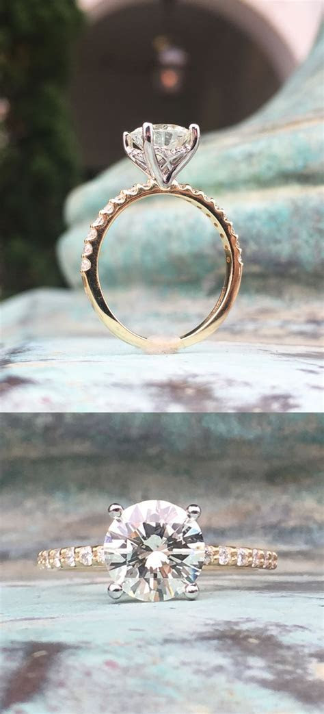 25  best ideas about Diamond rings on Pinterest   Round