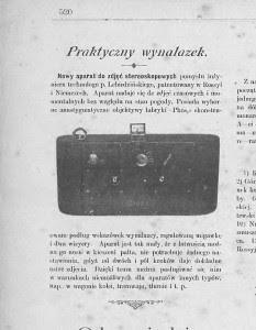 Wedrowiec 1901_ Rocznik 39_ Nr 14 - 26aparat