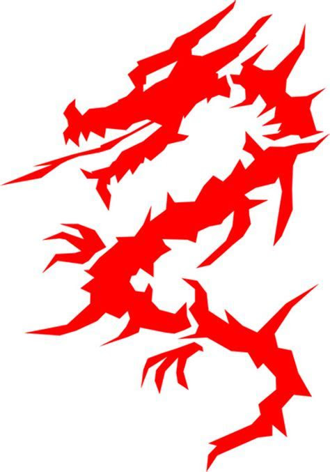 Red dragon Free vector in Adobe Illustrator ai ( .ai