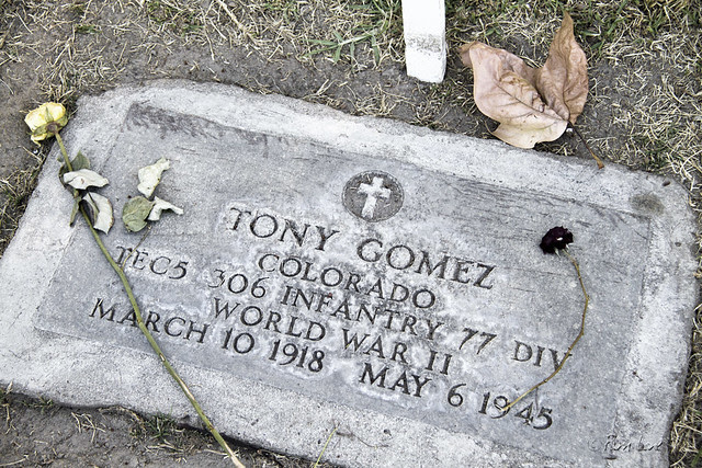 Downey Cemetery grave marker