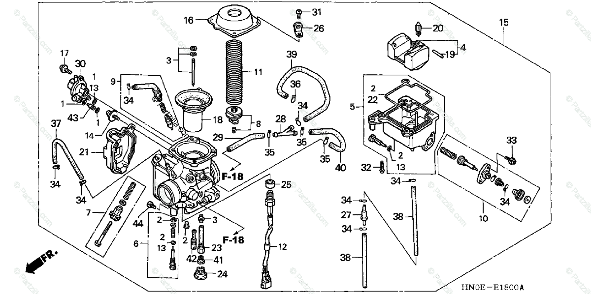 30 Honda Rubicon Parts Diagram