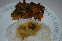 Aloo Capscicum Subzi by Vidhya