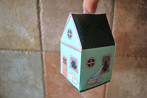printable house