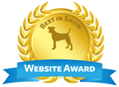 DOG WEBSITE AWARD