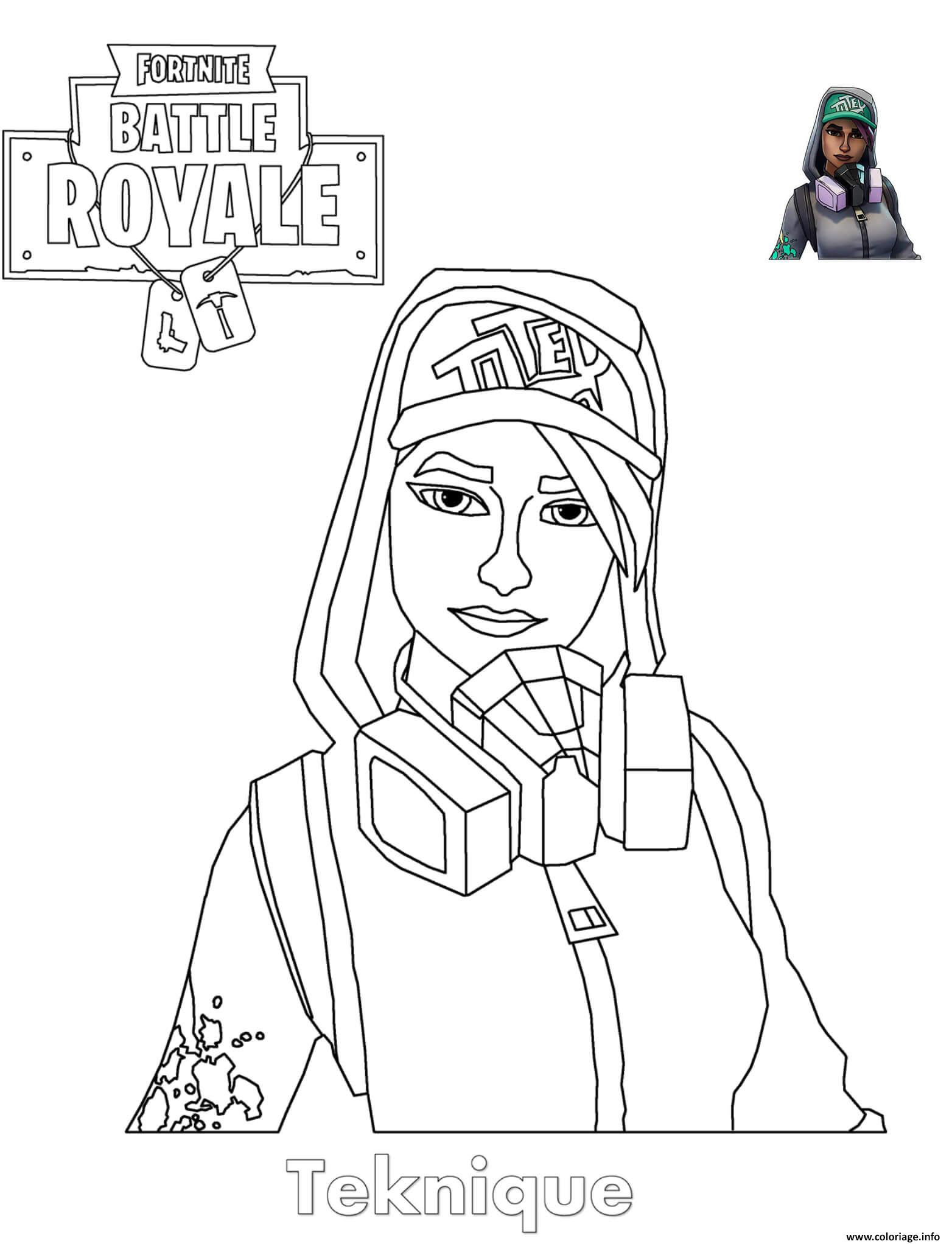 Coloriage Fortnite Skin Nomade A Imprimer Fortnite Cheat Engine 2018