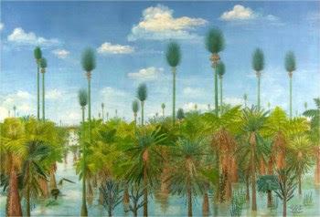 Uma representação da floresta encontrada na China