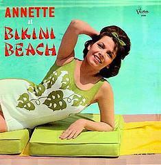 Annette at Bikini Beach