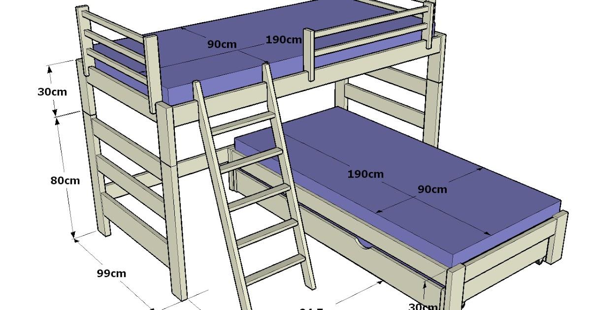 Dormitorio muebles modernos medidas litera for Muebles aznar