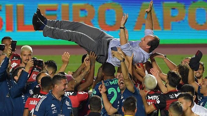 Flamengo is weer Braziliaans kampioen ondanks verlies op slotspeeldag