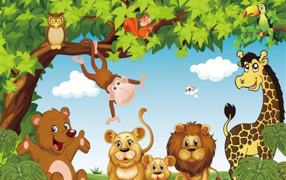 30+ Hewan dan tumbuhan kartun terbaru