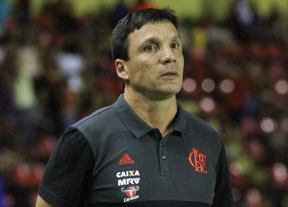 Zé Ricardo sofre pressão no Flamengo (Foto: Adelson Costa / Pernambuco Press)