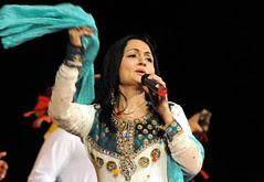 Pakistani folk singer Shazia Khushk sing Sindhi song