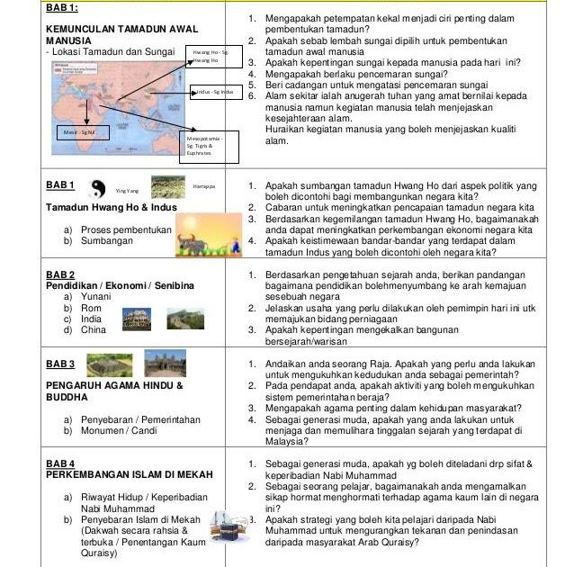 Soalan Kbat Geografi Tingkatan 4 - Contoh Press