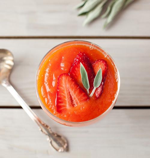 Papaya Strawberry Soup 6