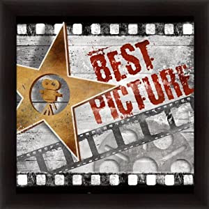 Amazon.com: Best Picture by Conrad Knutsen Media Room Sign Art ...