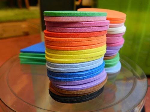 Nice funky foam colours