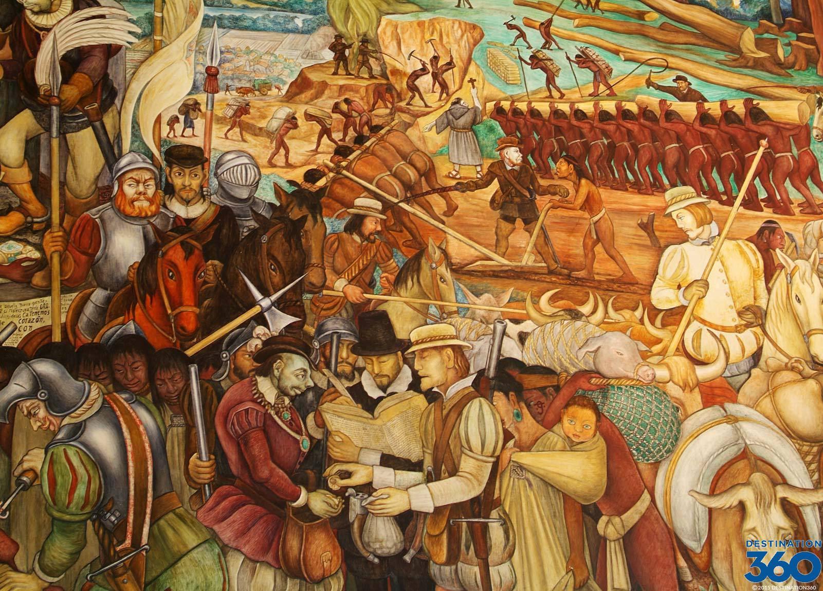 Palacio Nacional Mural Diego Rivera Mural In Mexico City