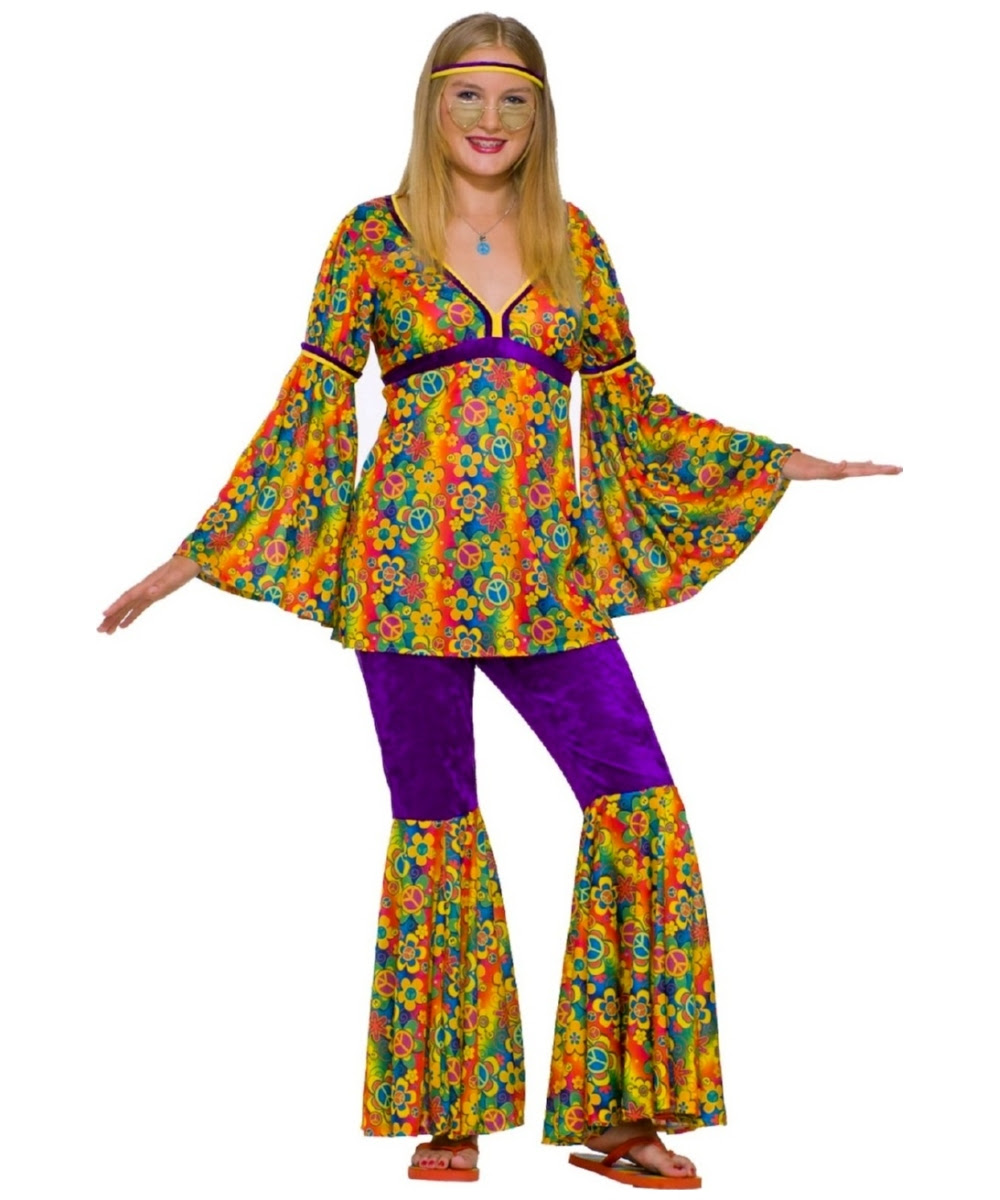 hippie purple haze teen costume  women hippie costumes