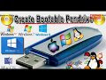 Make A Bootable USB Drive Or Pendrive For Windows / Linux In Multiple Methods   Fastest Way