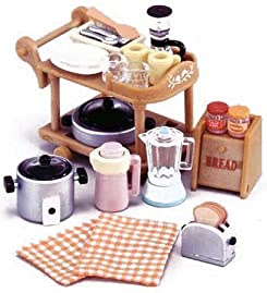 シルバニアファミリー キッチン / ダイニングルーム キッチン家電セット カ-407