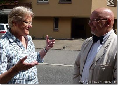 Judith Stamm und Niklaus Lenherr