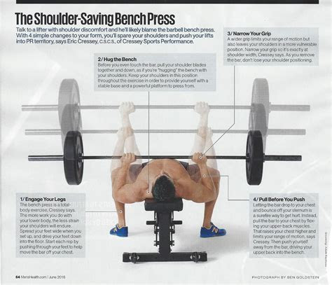 bench press proper form  atmenshealthmag ns bench