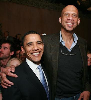 Barack and Kareem