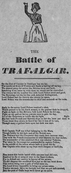 "File:Broadside titled ""The Battle of Trafalgar"".jpg"