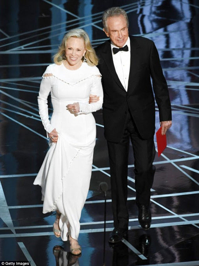 Do-over: Warren Beatty and Faye Dunaway are set to present at The Oscars again after last year's infamous mix-up