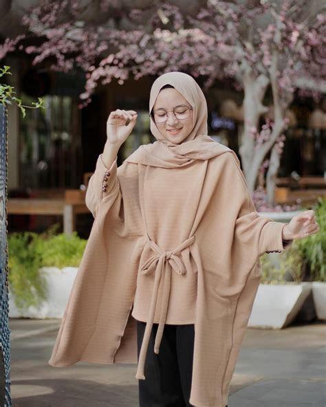 ootd hijab nissa sabyan  youtuber bersuara merdu