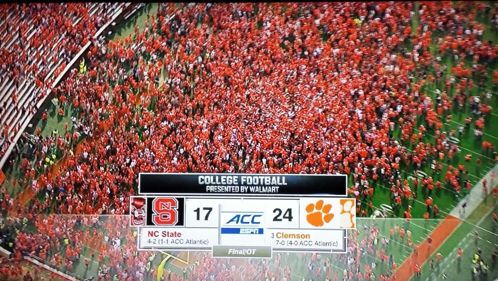 Image result for clemson storming
