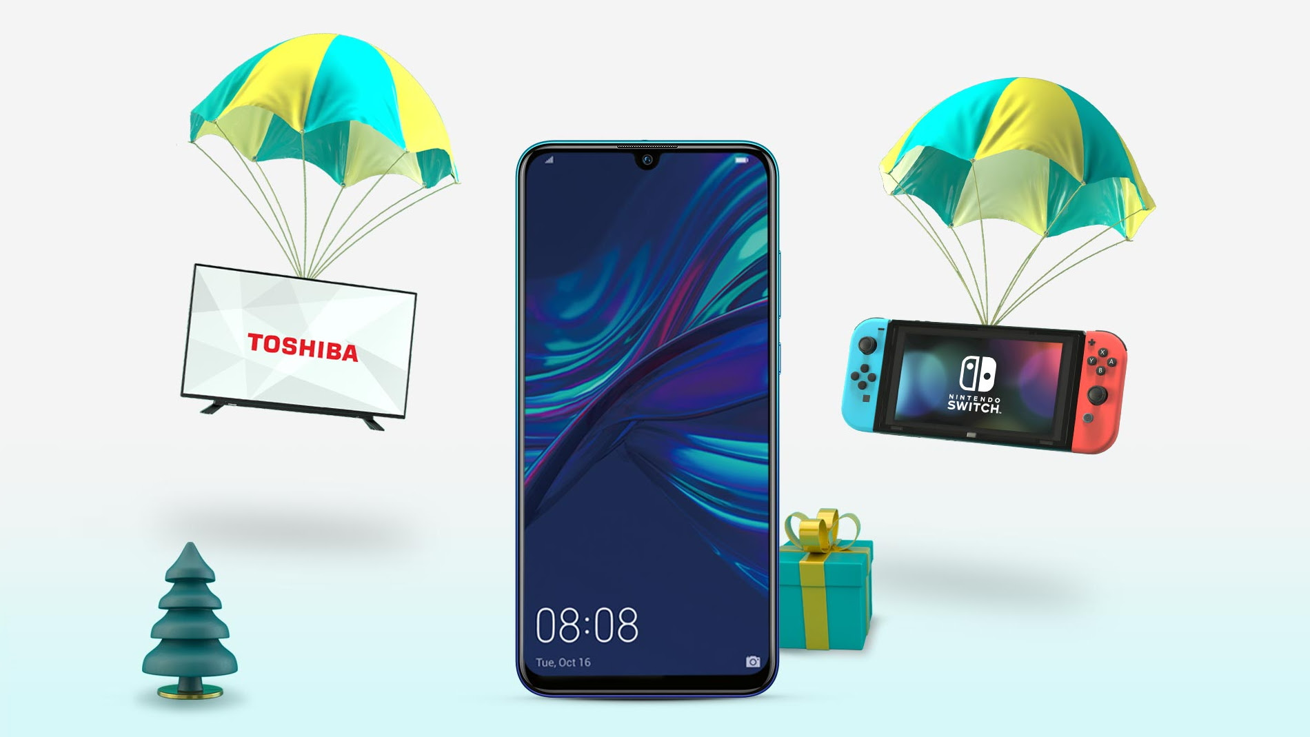 EE Black Friday bargain: £28/pm for a 2019 Huawei phone deal and free Nintendo Switch