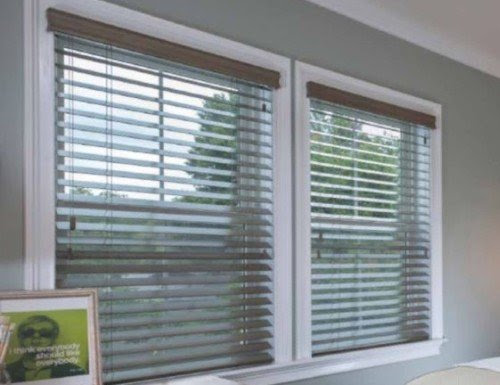 2 12 Wood Blinds Real Wooden Blinds Horizontal Wooden Blinds