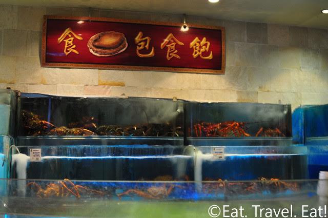 Koi Palace- Daly City, CA: Live Seafood Tank