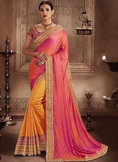 Top Wedding Sarees In Vogue This Party Season   No