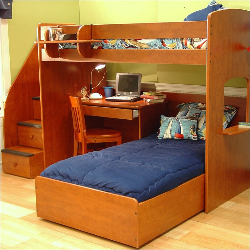 Bunk Beds and Loft Beds with Stairs