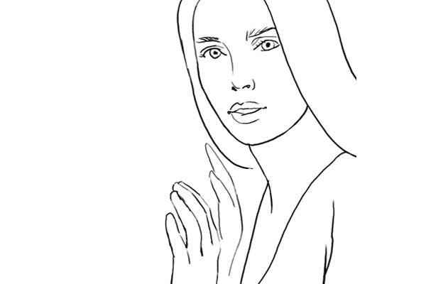 Позирование: позы для женского портрета 2-3
