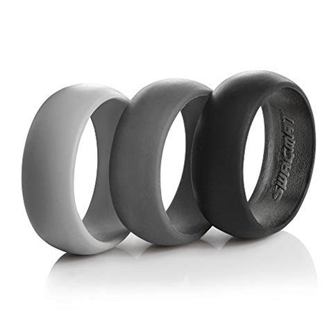 10 Easy Gift Ideas for Him (Silicone Wedding Rings)