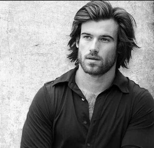 15 Stylish Men with Long Hairstyles | The Best Mens ...